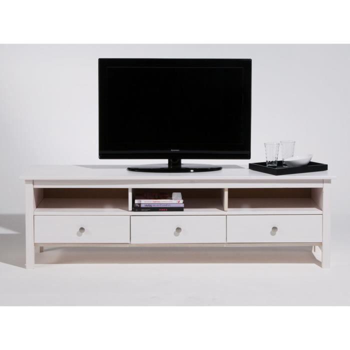 meuble tv bas bois achat vente pas cher. Black Bedroom Furniture Sets. Home Design Ideas