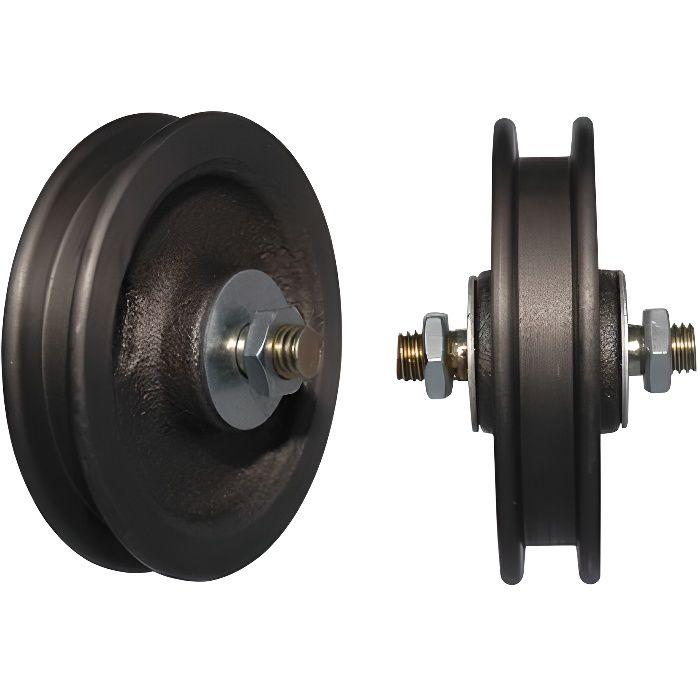 kit de galet roulette pour porte coulissante Roulette porte coulissante Nr.500 60mm lose