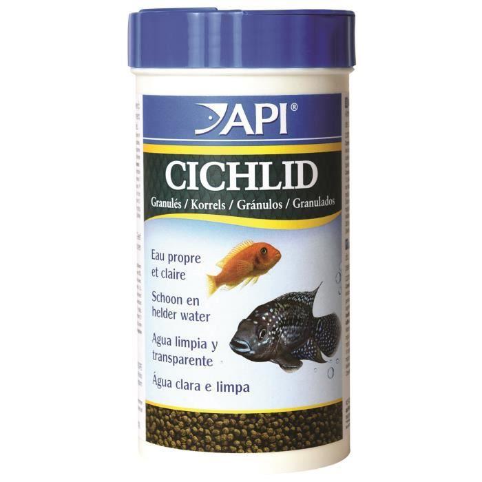 Api Cichlid Granulés - Pour Poisson 184 G