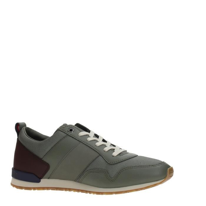 Tommy Hilfiger Sneakers Homme DUSTY OLIVE, 41