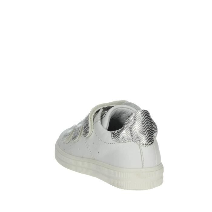 Ciao Bimbi Petite Sneakers Fille Blanc/Argent, 21