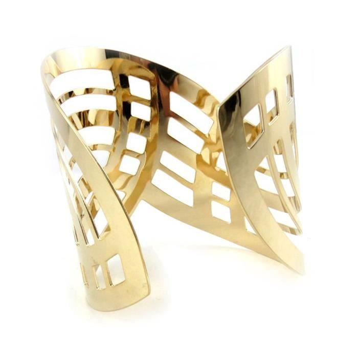 Altesse [N1143] - Bracelet plaqué or Cleopatra