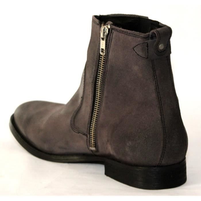 ALL SAINTS BOTTES CUIR CHAUSSURES MODE HOMME T 41 NEUVES CCDkpD