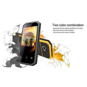 Téléphone portable W7 débloqué GSM 4G LTE Android 5.1 5inch IP68 Télé