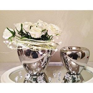 VASE - SOLIFLORE DRULINE Ensemble de deux pots de table de vase urn