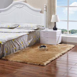HOUSSE DE COUSSIN 60 x 120CM Tapis moelleux en fausse fourrure recta