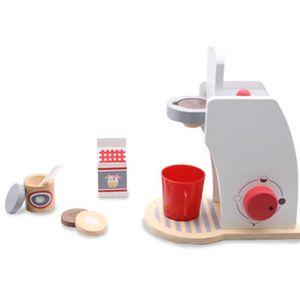 DINETTE - CUISINE   Jeu de cafetière pour enfants, cafetière en bois