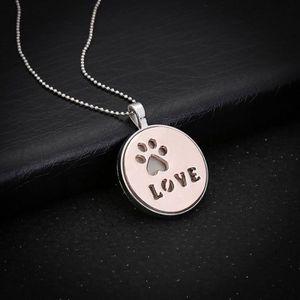 SAUTOIR ET COLLIER yzw-10251 Creux Love Letter lumineux collier pende