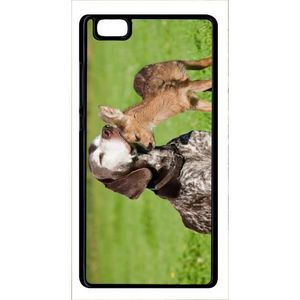 coque huawei p8 chien