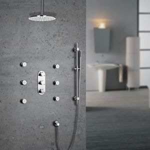 barre de douche arrondie achat vente pas cher. Black Bedroom Furniture Sets. Home Design Ideas