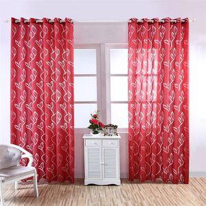 RIDEAU 2X voilage - Rideau de fenêtre balanciers de balco
