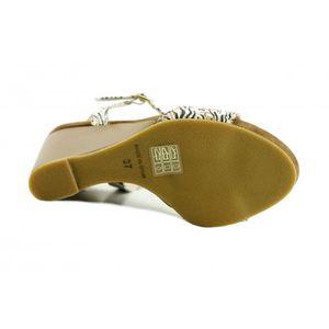 SANDALE - NU-PIEDS Jovita - sandales compensée haut chaussures femme
