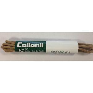 LACET  BOÎTE DE 2 LACETS ronds fins en coton beige COLLON