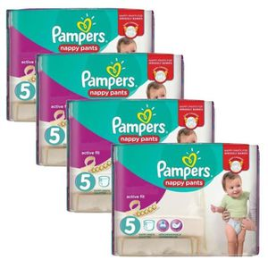 COUCHE 160 Couches Pampers Active Fit Pants taille 5