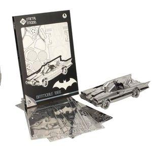 VOITURE À CONSTRUIRE WTT BATMOBILE 3D - Puzzle - Métal 1966