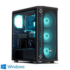UNITÉ CENTRALE  PC Gamer, Intel i3, RX 570, 240 Go SSD, 1 To HDD,