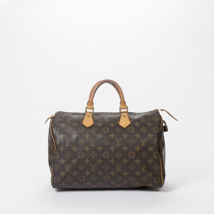 23fd325ab2 Louis Vuitton - Sac à main - Monogram Canvas Brown - 273 - Achat ...