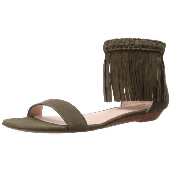 Nine West Women's Wanderlust Suede Dress Sandal GEHW3 Taille-39 1-2