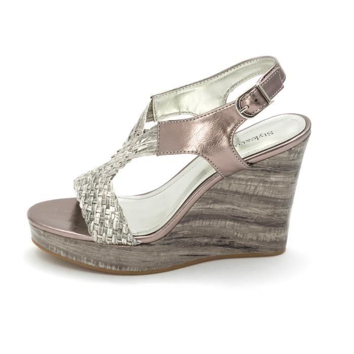 Femmes Style & Co. Hayleigh Sandales Compensées skGhU5l