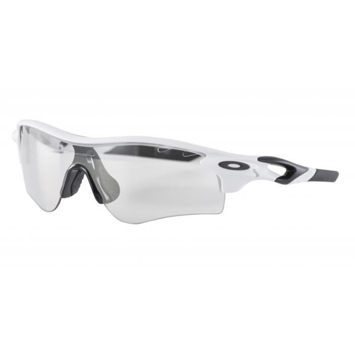 Oakley Radarlock Path - Lunettes - blanc - Prix pas cher - Cdiscount d8e58d89a10e