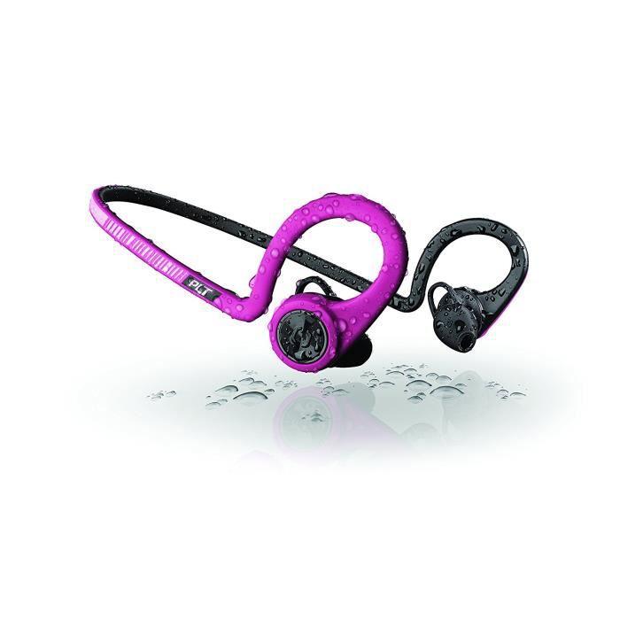 Plantronics 20600305 Ecouteurs Bluetooth Backbeat Fit - Fushia