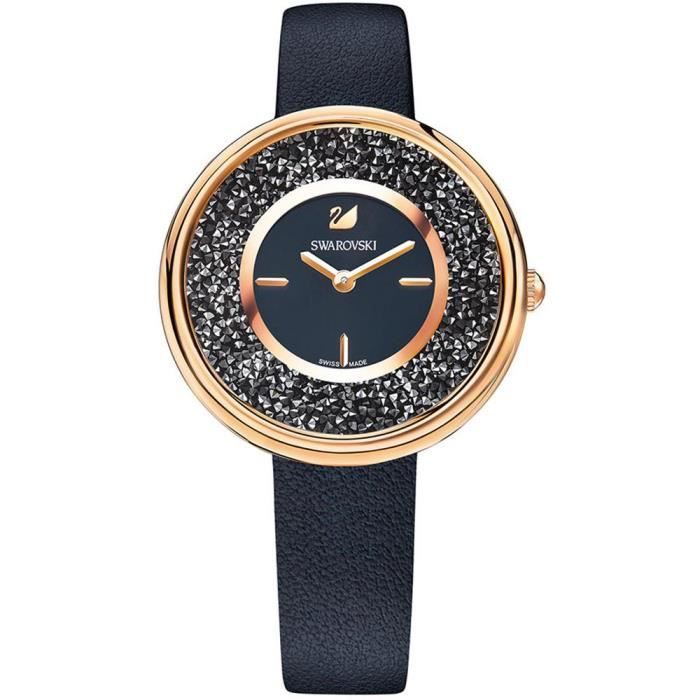 MONTRE Swarovski Crystalline Pure Femme 34mm Bracelet Cui