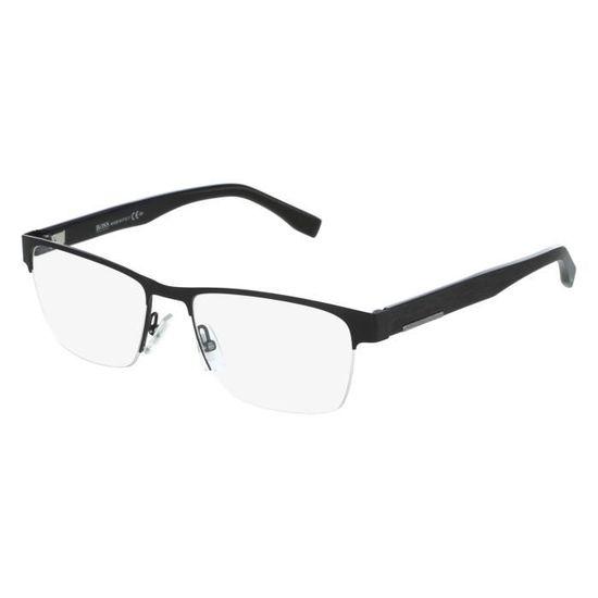 Lunettes de vue Hugo Boss BOSS 0683 -10G Noir mat Noir - Achat   Vente  lunettes de vue Lunettes de vue Hugo Boss B... Homme - Cdiscoun ae1ea7f191d9