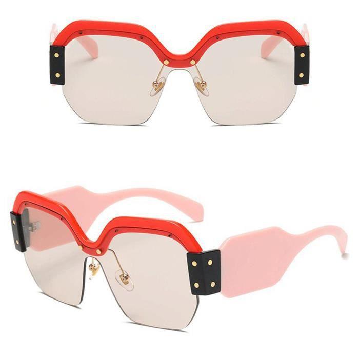 Deuxsuns®Femmes Vintage Lunettes de soleil Retro Big Frame UV400 Lunettes Fashion Ladies@zf778