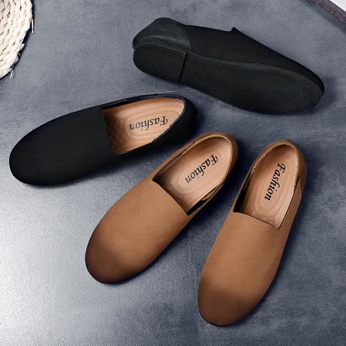Chaussures pois jeunes/Chaussures de sport pour hommes /Pied chaussures de conduite/Respirants chaussures d'Angleterre…