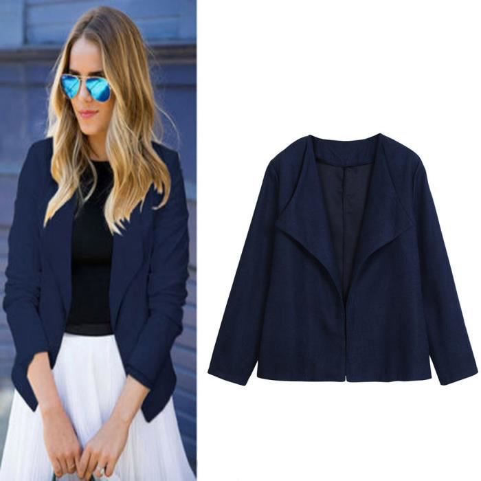 Blazer Affaires Veste 4041 Slim Bureau Manteau Outwear Femmes Costume Top Casual Mode Z7cUxnSW1n
