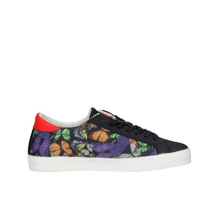 D.a.t.e. Sneakers Femme Noir, 37