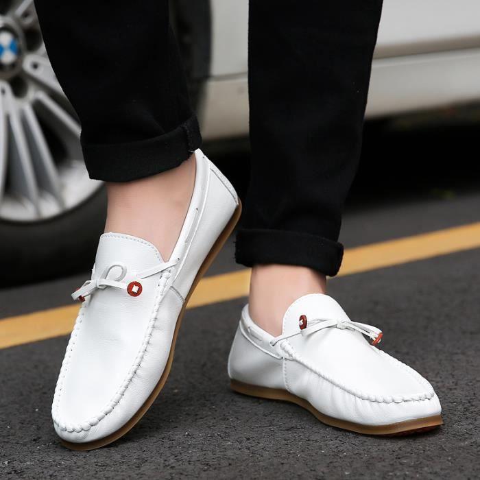 Chaussures Homme Bateau en daim Chaussures de ville Chaussures plates 5AXkAWf1
