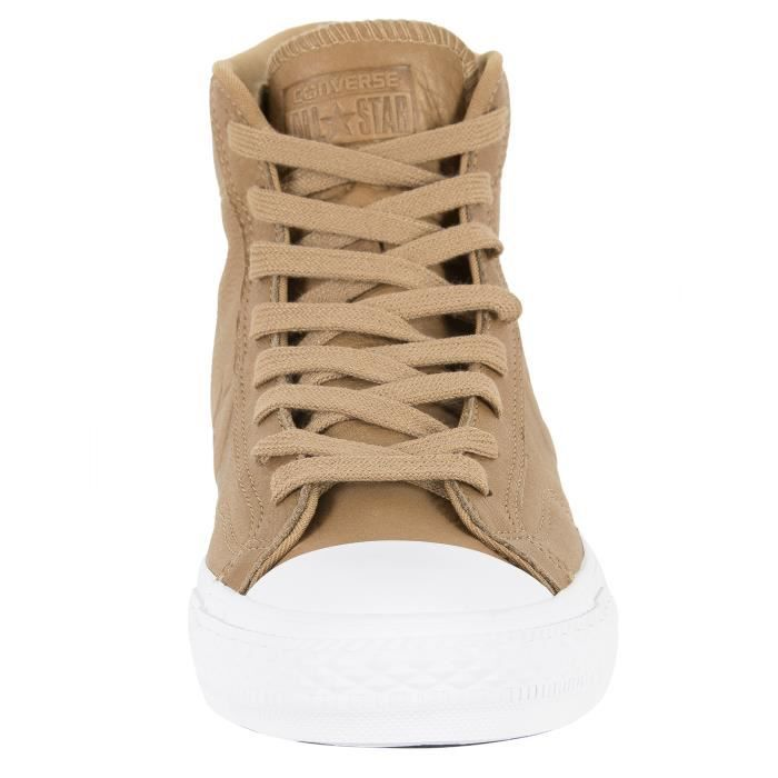 Converse Homme Star Player HI Trainers, Marron