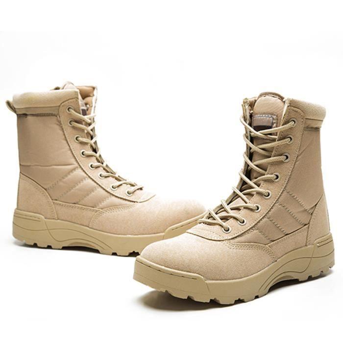 Bottes Femmes Haute-Top Tactique Cheville Désert Bottes Combat Militaire Chaussures Portable Durable Armée Securite Bottes De Combat