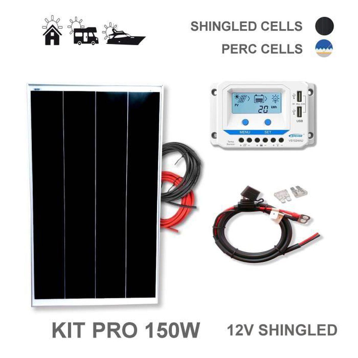 11d0ed0e15 Panneau solaire 150w - Achat / Vente pas cher