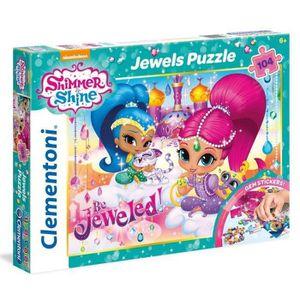 CLEMENTONI Shimmer & Shine Bijoux Puzzle 104 pi?ces