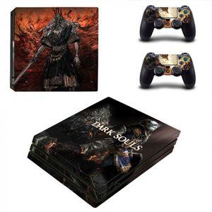STICKER - SKIN CONSOLE Version YSP4P-2146 - Jeu Dark Souls Ps4 Pro Peau A