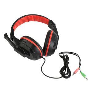 CASQUE - ÉCOUTEURS les écouteurs stéréo de 3,5 mm réglable ordinateur