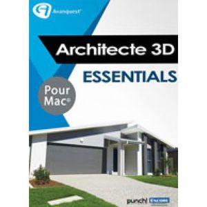 LOISIRS À TÉLÉCHARGER Logiciel Design- Architecte 3D Essentials 2017 (V1