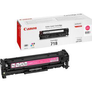 TONER Canon Pack de 2 Toner 718 Noir