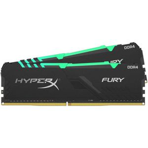 MÉMOIRE RAM HYPERX - Mémoire PC RAM - FURY DDR4 RGB - 32 Go (2