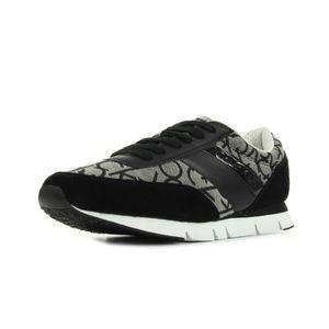 Calvin Klein Jeans Jack Mesh/HF Hommes Sneaker Noir S1673 swLai3