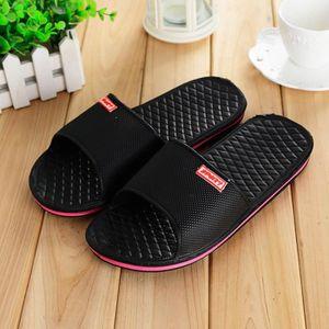 Chaussons de bain Antidérapant Chaussure pour femme Pantoufles Haut qualité Confortable Sandales Pantoufle Plu dssx079rose40 RKHNtuTvC0