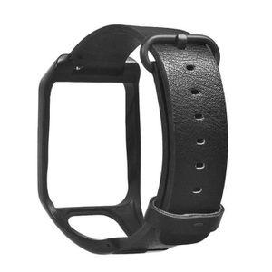 MONTRE 7554-SHLK Bracelet De Montre pour Tomtom Runner3 E
