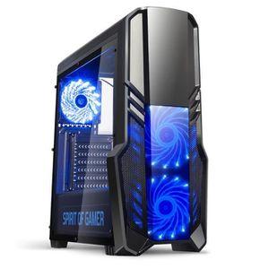 BOITIER PC  SPIRIT OF GAMER Boîtier PC Gamer Rogue II - Bleu
