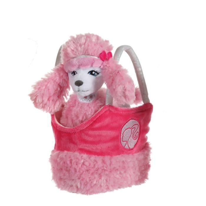 """Peluche à l'effigie du caniche de Barbie """"Sequin"""" - Fille - Dès la naissance - Livré à l'unitéPELUCHE"""