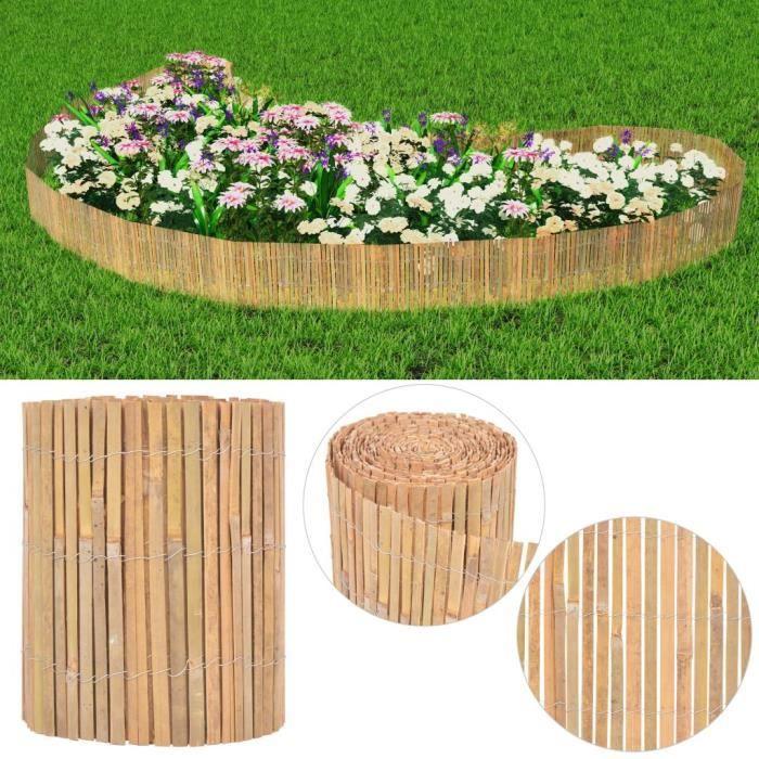 Clôture de jardin Bambou 1000 x 30 cm