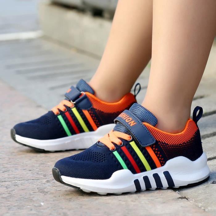 Chaussures de sport pour enfants Chaussures de course à pied respirantes ofN22gzT