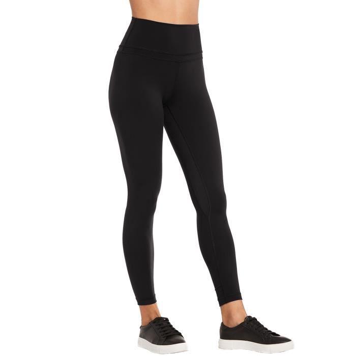 CRZ YOGA Femme Legging de Sport Taille Haute En Tissu Léger Avec Poche Noir  XXS(36) 8dde652b1f9