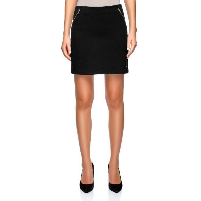 0cb4fb22278eab Mini-jupe avec poches de femmes S4JSH Taille-40